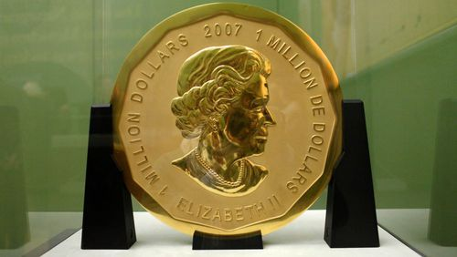 The 'Big Maple Leaf' coin worth over six million dollars.