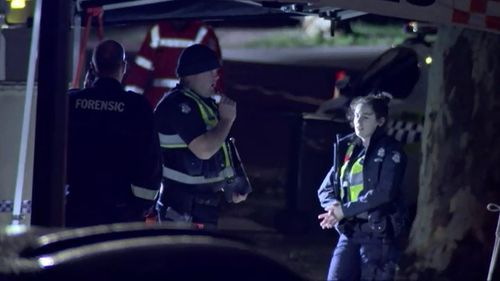 Police were called after neighbours heard screams coming from the home.