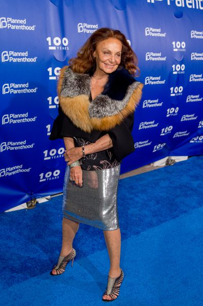 <p>Grandmother Diane Von Furstenberg, 70, founded the wrap dress and created a fashion empire. Form, function and flamboyance make her a style icon.</p>