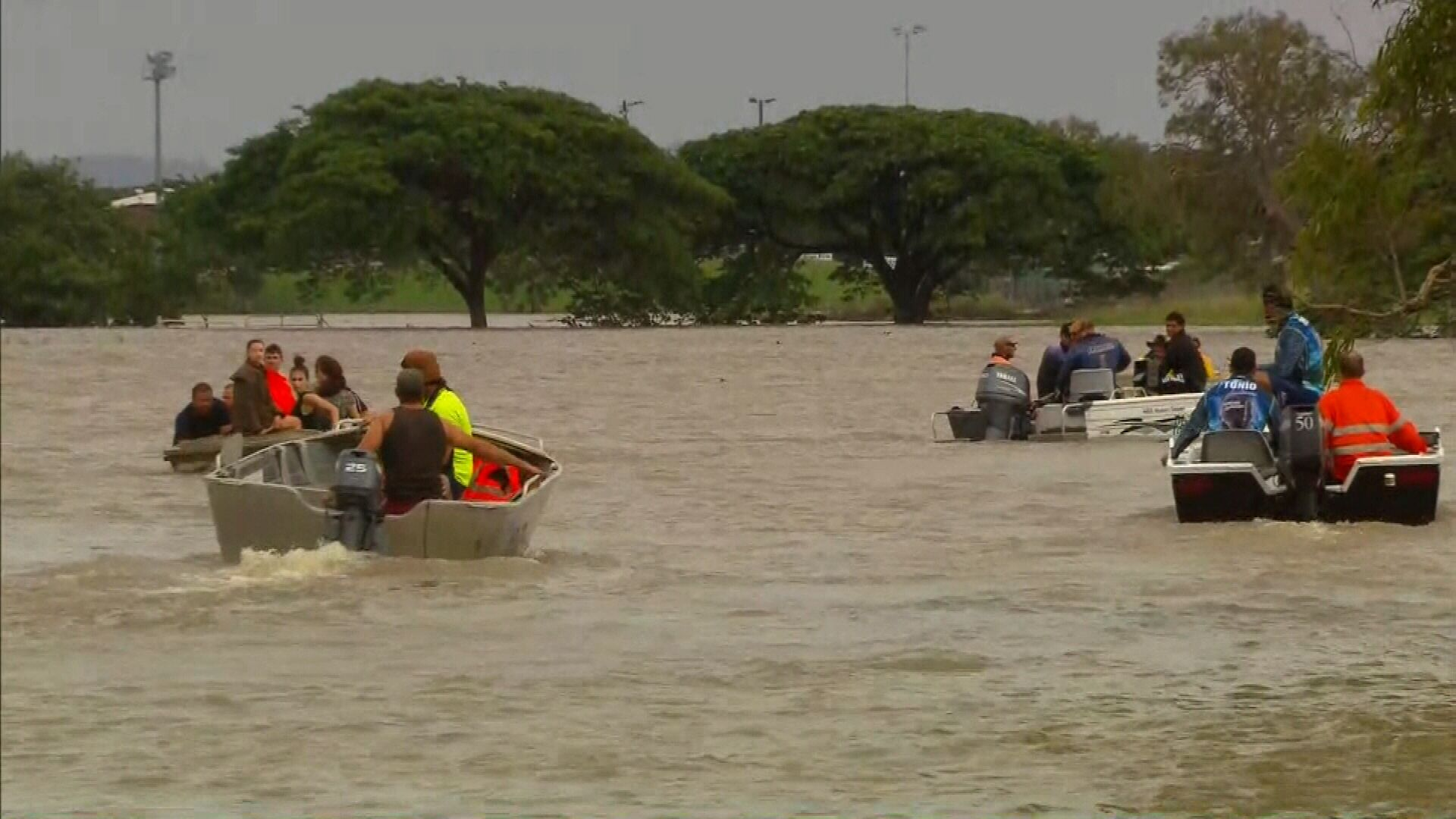NRL: North Queensland Cowboys aid Townsville flood victims