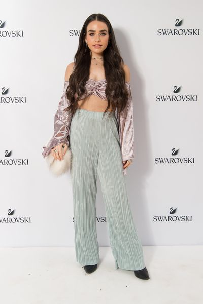 Cartia Mallan at the Swarovski Rainbow Collection launch in Sydney.