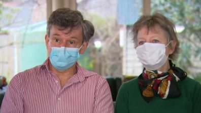 Melbourne doctor's plea to public after giving coronavirus to wife