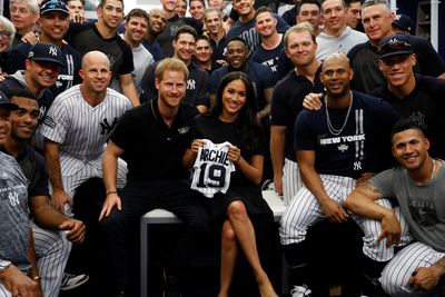 Meghan Markle makes surprise appearance with Harry