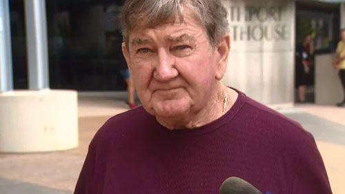 Ronald Baldwin pleaded guilty to assault. (Image: 9NEWS)