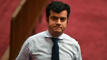 The ABC claims there was public interest in its Australian Story profile of Senator Sam Dastyari (AAP Image/Mick Tsikas).