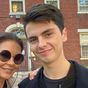 Catherine Zeta-Jones receives insight into college life while visiting son