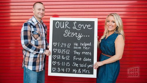 Domestic violence survivor to marry first responder who helped save her life
