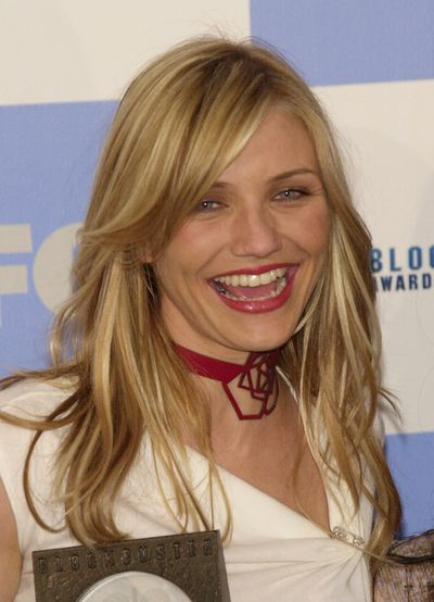 Cameron Diaz at the 7th Annual Blockbuster Awards in Los Angeles, April, 2001