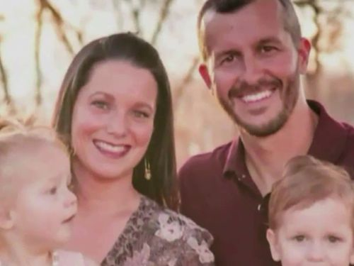 Christopher Watts and his young family.