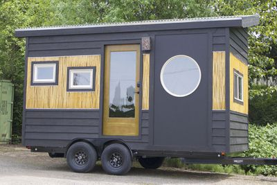 <p><strong>The Bamboo tiny house</strong></p> <p><strong></strong></p>