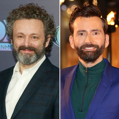 Michael Sheen and David Tennant