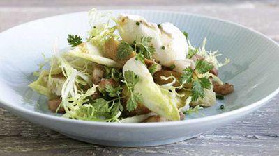 "<a href=""http://kitchen.nine.com.au/2016/05/19/19/44/salade-lyonnaise"" target=""_top"">Salade Lyonnaise</a> recipe"