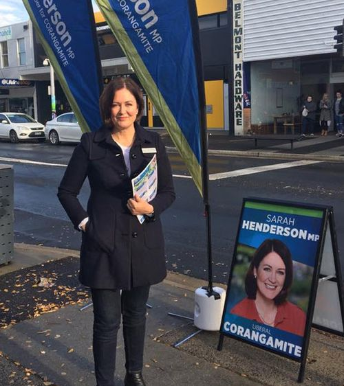 Liberal MP Sarah Henderson said she doesn't want to be the Member for Cox after a proposed electorate name change. Picture: Facebook/Sarah Henderson MP.