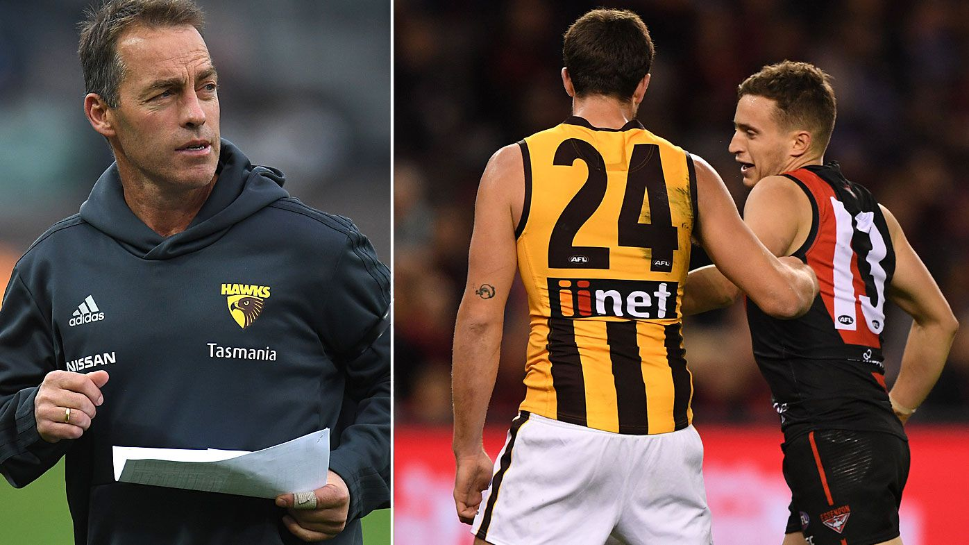 Hawks coach Alastair Clarkson compares Ben Stratton pinching case to 'Sandpapergate hysteria'