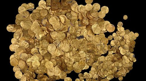 Scuba divers stumble onto largest hoard of gold coins ever found in Israel