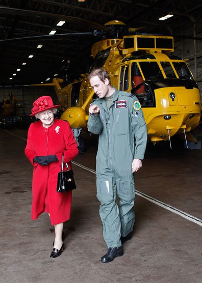 The Queen, Prince William