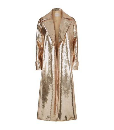 """Max Mara sequin starlet coat, $8076 at <a href=""""http://www.harrods.com/product/starlet-sequin-coat/max-mara/000000000005270062?cat1=new-women&amp;cat2=women-new-coats&amp;cid=LS&amp;siteID=Hy3bqNL2jtQ-jC41Q9SsGg8Y0C57BF96ww#"""" target=""""_blank"""">Harrods</a>"""