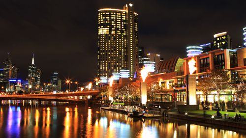 Crown casino is located at Southbank in Melbourne.