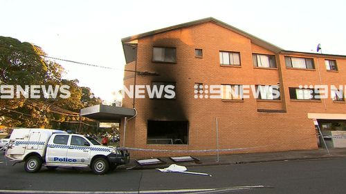 Emergency services were called to the butcher about 3.30am. (9NEWS)