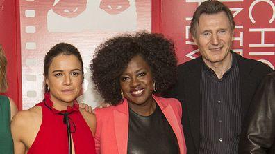 Michelle Rodriguez, Viola Davis and Liam Neeson.