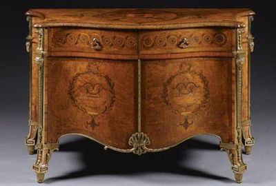 The Harrington commode sold for $6.3m. Pic: Sotheby's