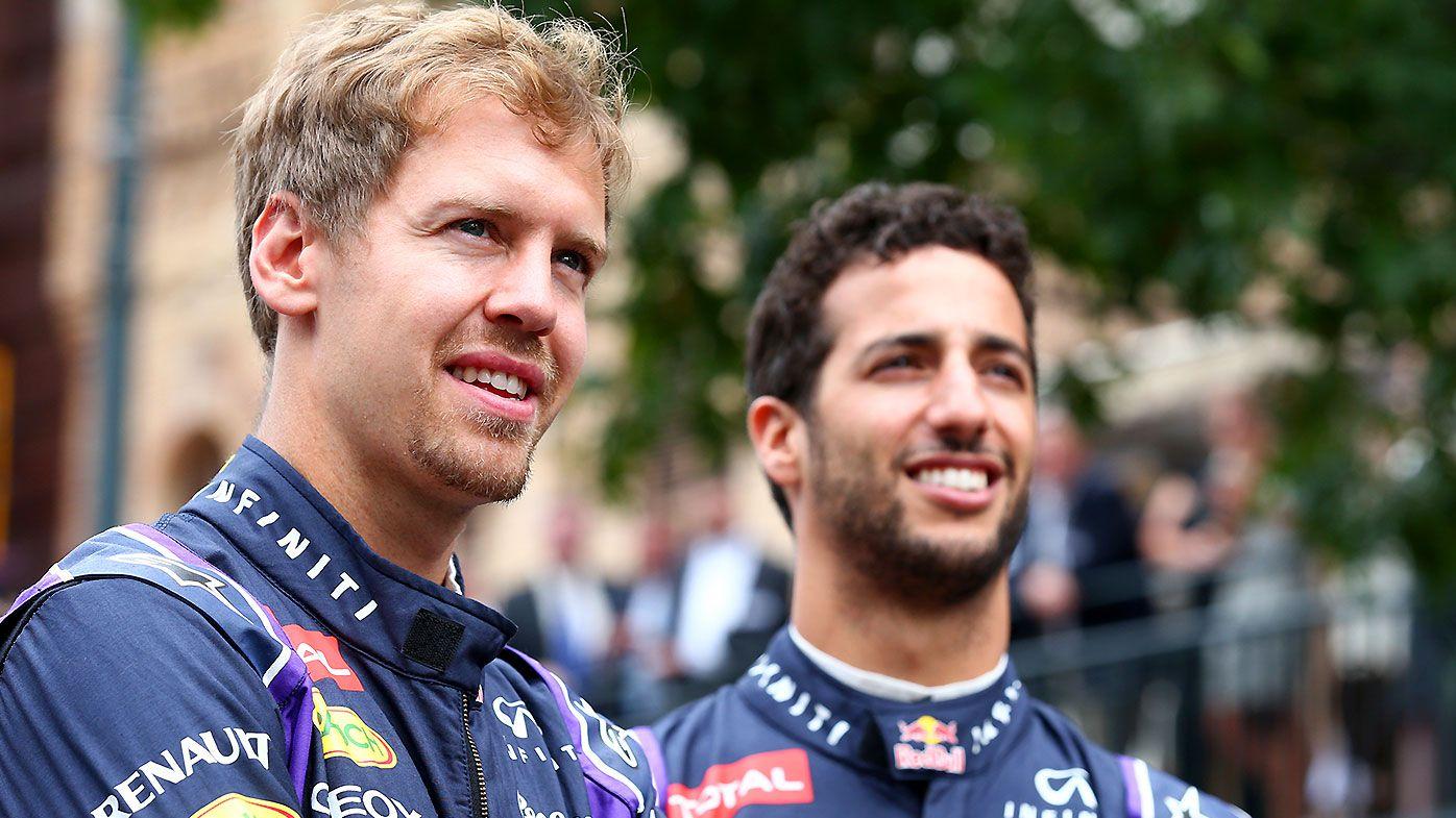 Sebastian Vettel Daniel Ricciardo