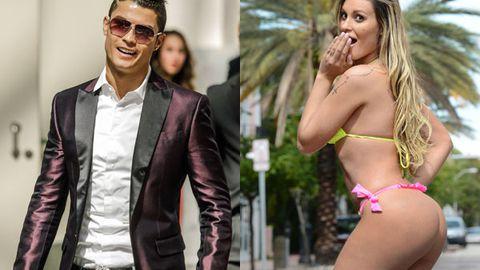 Football star Ronaldo 'cheats on model girlfriend' with Brazilian babe 'Miss BumBum'