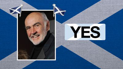 """Sean Connery, actor: """"Scotland has the chance to make a step change."""""""