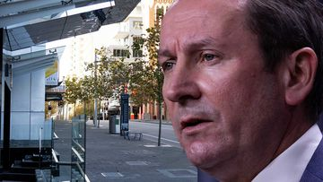Mark McGowan has lifted the lockdown in Perth.