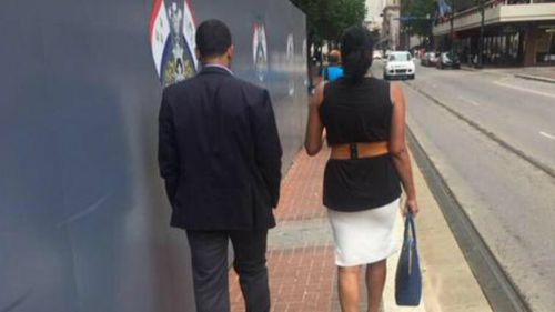 What is wrong with this picture? Seemingly innocuous Twitter photo sparks fierce etiquette debate online