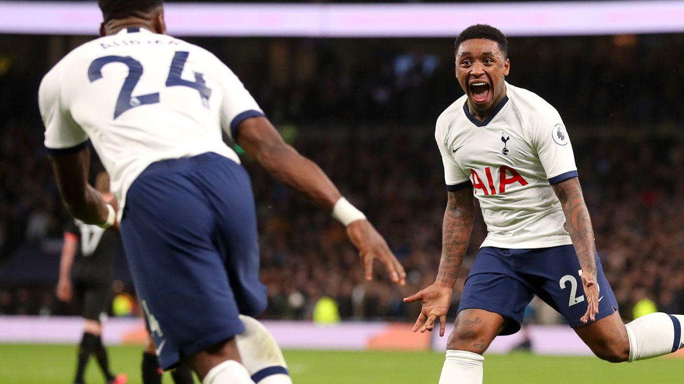 Steven Bergwijn helps Tottenham beat Man City 2-0, Liverpool's huge lead remains