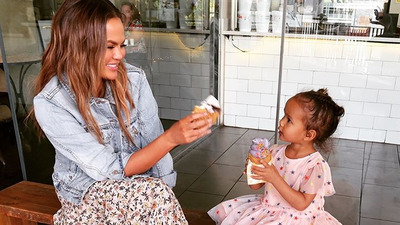 Chrissy Teigen loves 'pre-bed' ham and cheese sanwiches