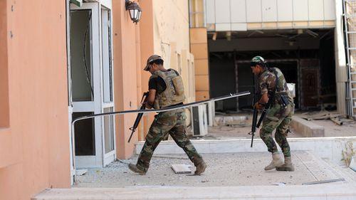 Iraqi forces retake IS holdout in Falluja