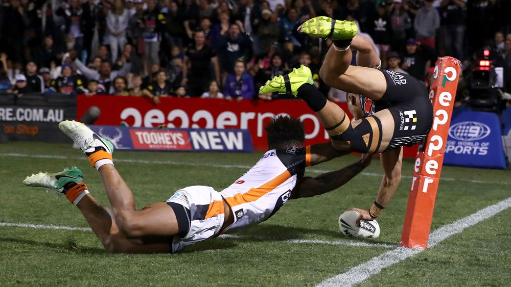 Penrith move to eighth after NRL thriller against Wests Tigers at Pepper Stadium