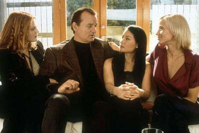 "Yikes! Actor Bill Murray couldn't even fake a smile while filming <i>Charlie's Angels</i>, as he took a serious disliking to Lucy Liu... who he believed had an ""out-of-control ego.""<br><br>To make matters worse, Bill refused to make any appearances in support of the movie when it came out in 2000... turning down the same role in sequel <i>Charlie's Angels: Full Throttle</i>""<br><br>In retrospect, it was probably a good call."