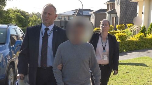 Detectives arrested the man at his Moorebank home in April.