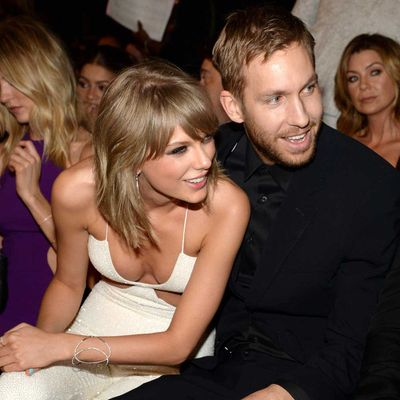 Taylor Swift and Calvin Harris (February 2015-June 2016)