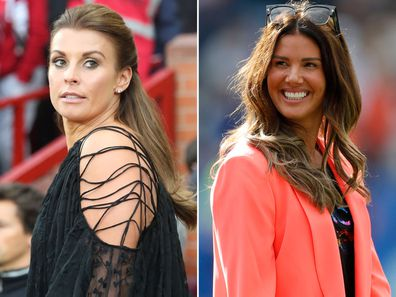 Coleen Rooney and Rebekah Vardy