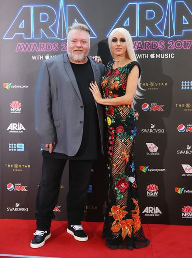 Kyle Sandilands and Imogen Anthony at the 31st Annual ARIA Awards in 2017