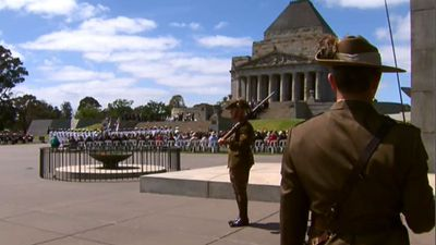 The most talked-about moment on Twitter was Remembrance Day on November 11, when hordes of people took to Twitter to mark the 11am moment of silence and pay their respects to Australia's fallen soldiers. (9NEWS)