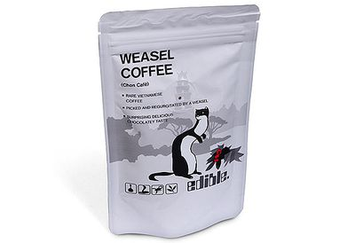 Weasel vomit coffee
