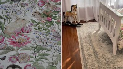 El'ise and Matt's renovation: Inside their daughter's beautiful bedroom