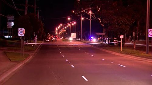 A man has been struck and killed by two cars on a Melbourne street.