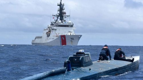 Homemade submarines are commonly used to smuggle drugs out of Colombia.