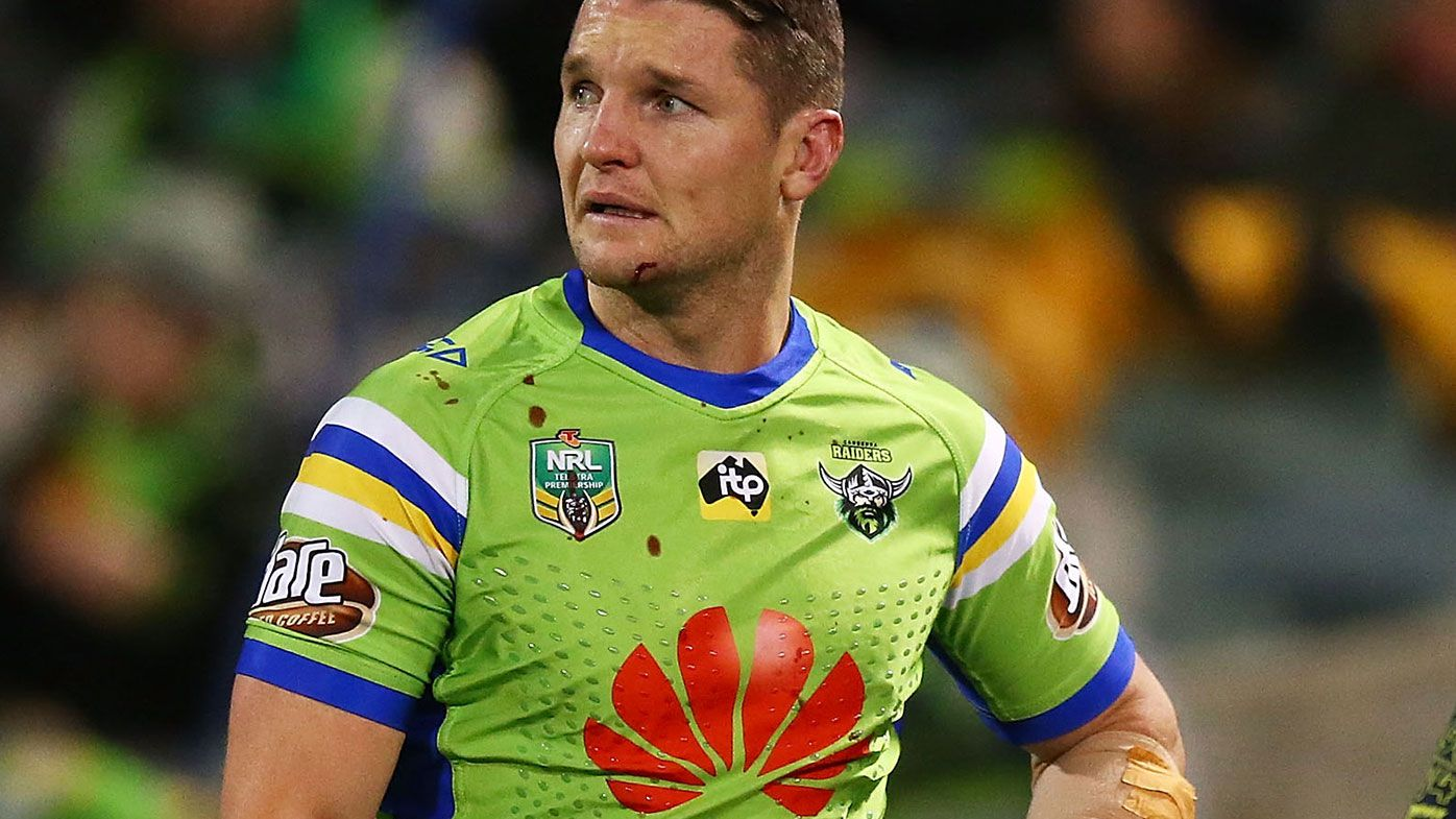 Raiders' Jarrod Croker faces end to NRL season