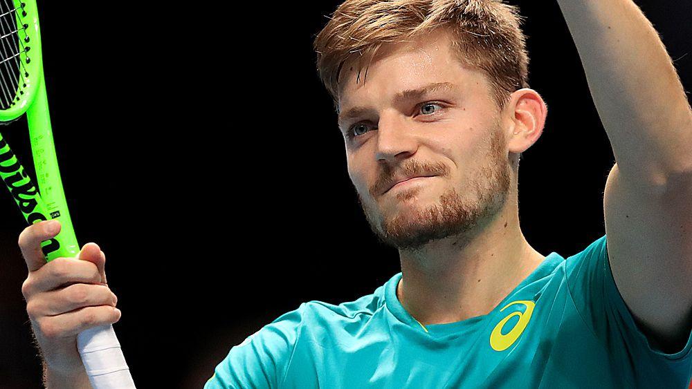 Tennis: David Goffin into semi-final against Roger Federer at ATP Tour Finals