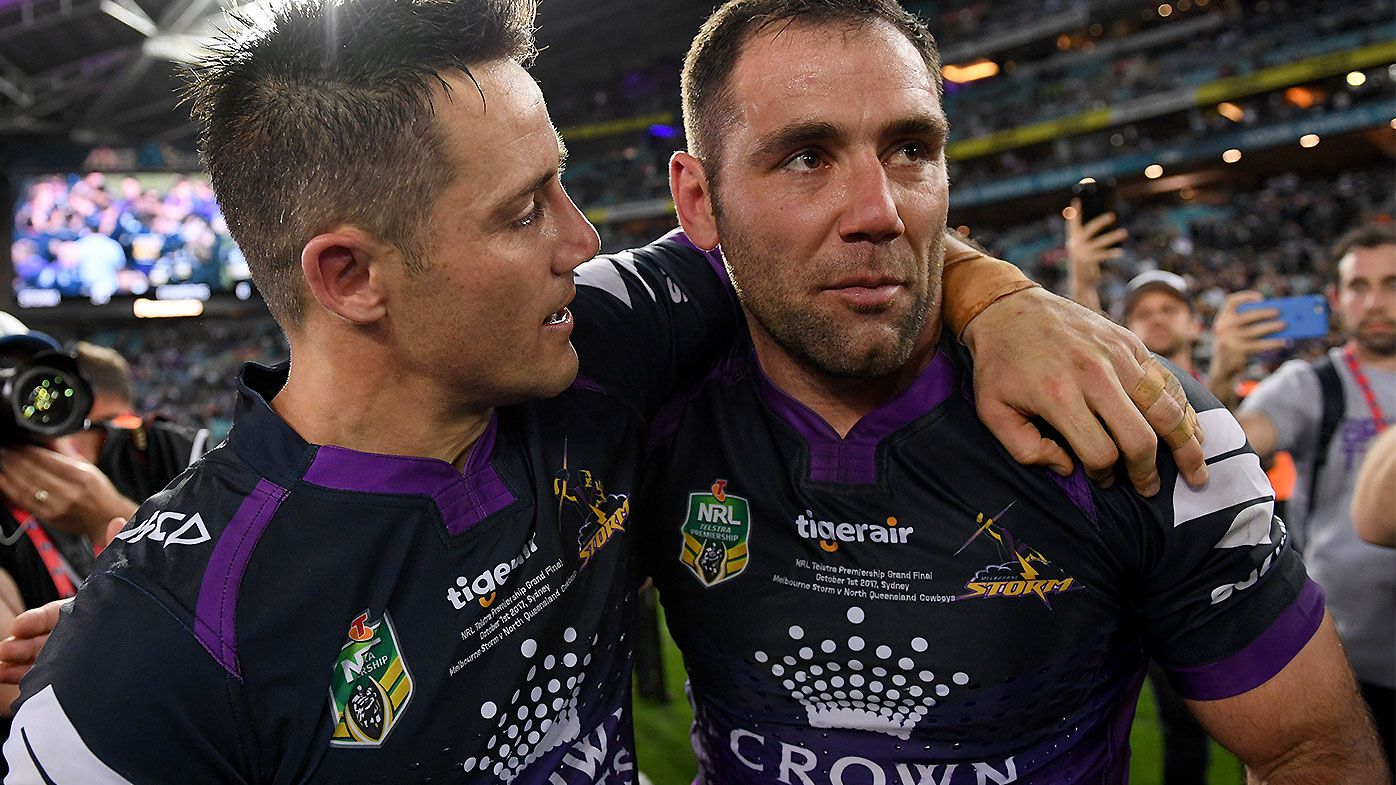 Cooper Cronk opens up on relationship with Cameron Smith