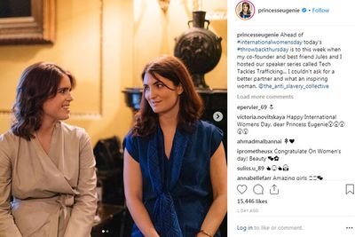 Princess Eugenie shares a tribute to her best friend, March 9, 2019