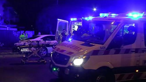 A two-year-old is in a critical condition after he was hit by a car in Melbourne.