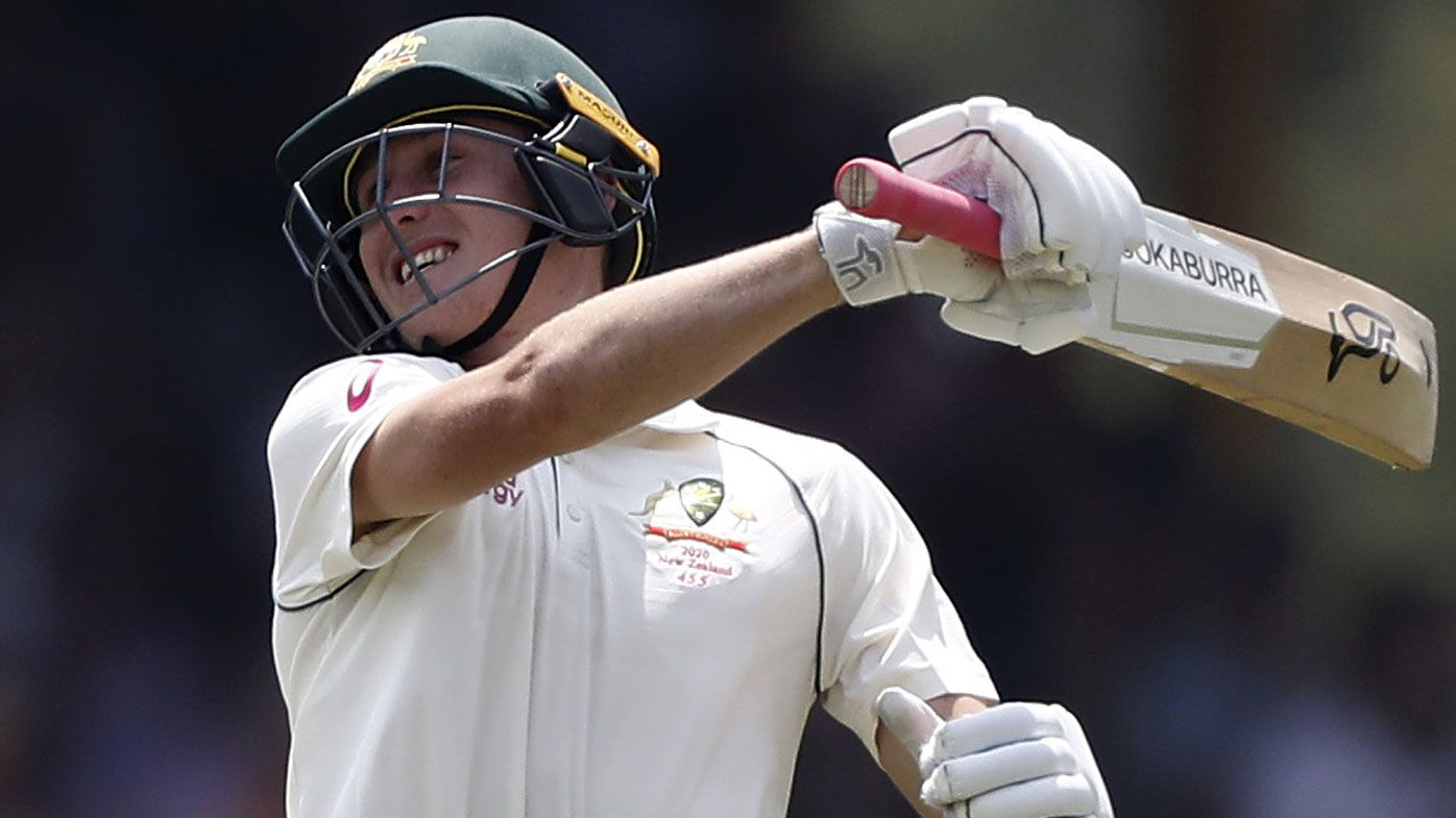 Marnus Labuschagne's drive for runs made in Wales, partly thanks to 'stiff' coach